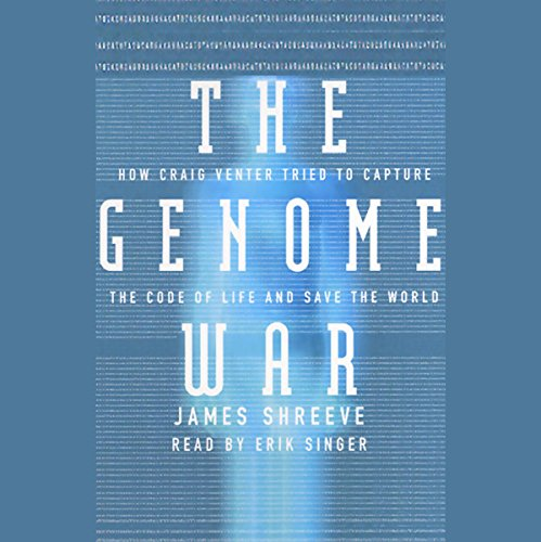 The Genome War audiobook cover art