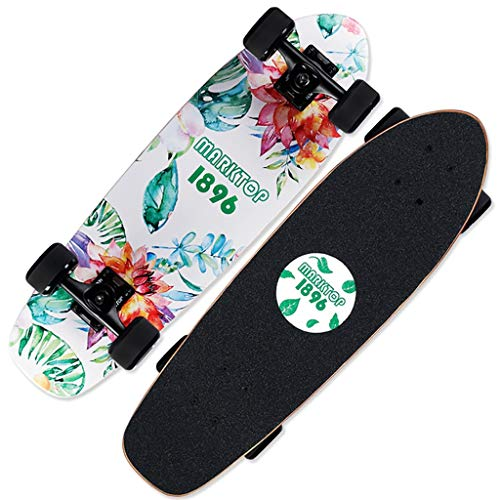 yxb compleet skateboard outdoor evenwicht spel met sticker outdoor pakket voor tiener meisje jongens h1/22