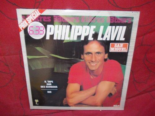 Philippe Lavil - il tape sur des bambous - rio - san miguel - si toi venir chez moi - gentleman - une balade en bateau disque RCA N° 37740