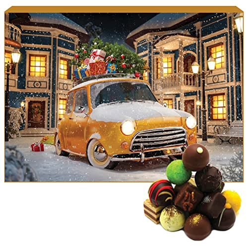 Hallingers Pralinen-Adventskalender - It's Christmas (Advents-Karton)