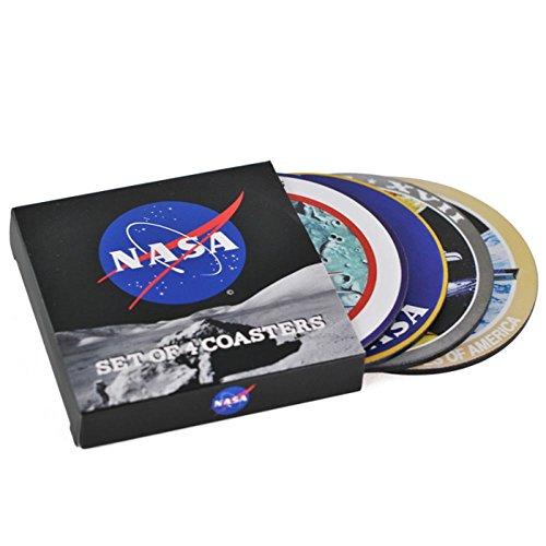 La NASA Pack de 4 sous-Verres Badges