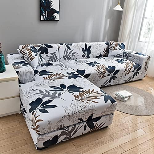 WXQY Flexibler Sofabezug Modulares großes Sofa L-förmige Ecke Rutschfester Sofabezug, All-Inclusive Sofabezug für Wohnzimmer A15 1 Sitzer