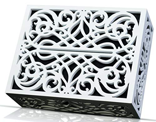 Doorbell Chime Cover Box Corinthian Style Inside Decorative Doorbell Chime Covering Only (White)