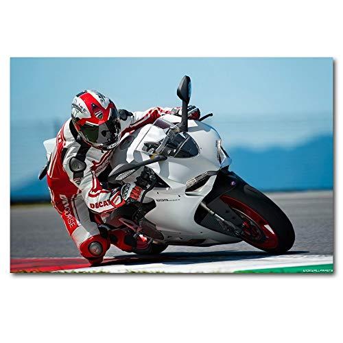 Motocicleta Super Track and Field Motorsport_Puzzle Adulto 1000 Piezas_Regalos para Fiesta de cumpleaños Infantil_50x75cm