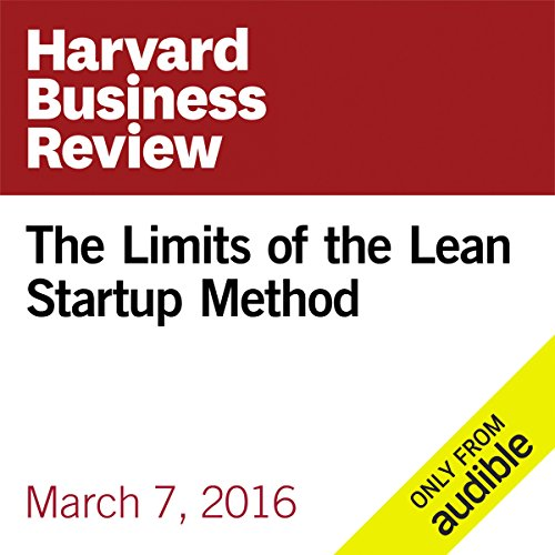 The Limits of the Lean Startup Method audiobook cover art