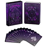 Cyberpunk Purple Playing Cards, Deck of Cards with Free Card Game eBook, Premium Card Deck, Cool...