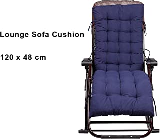Foldable Lounge Sofa Relax Floor Chair, Gaming Chair Cushion, Home Adjustable Folding Multi-Angle Lazy Couch Beds for Midday Rest, Watching TV, Nap, Balcony, Living Room(Blue)