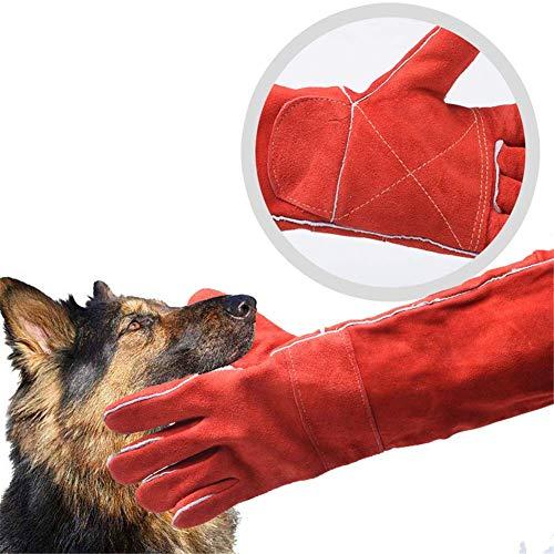 LKA Dierenhandschoenen, anti-bit, krasbestendig, geschikt voor vogels, valken, valken, valkenhandschoenen, voor het grijpen van reptielen, eekhoorns, slang