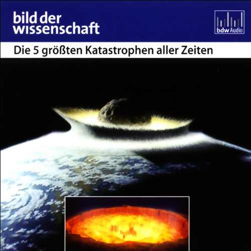 Die 5 größten Katastrophen aller Zeiten - Bild der Wissenschaft audiobook cover art