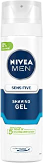 NIVEA MEN Shaving, Sensitive Shaving Gel, 200ml