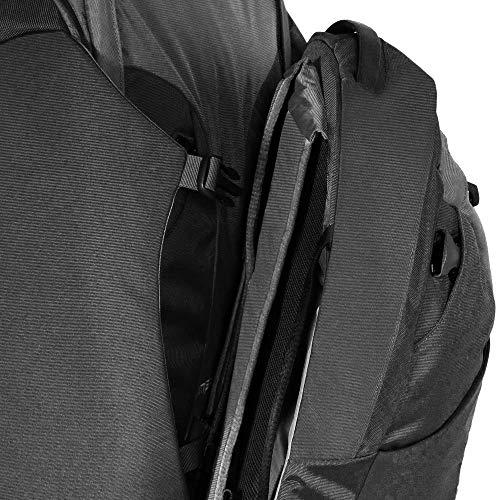 """Osprey Meridian 60 L/22"""" Wheeled Luggage, Metal Grey"""
