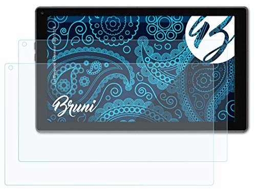 Bruni Schutzfolie kompatibel mit Blaupunkt Endeavour 1001/101G Folie, glasklare Bildschirmschutzfolie (2X)