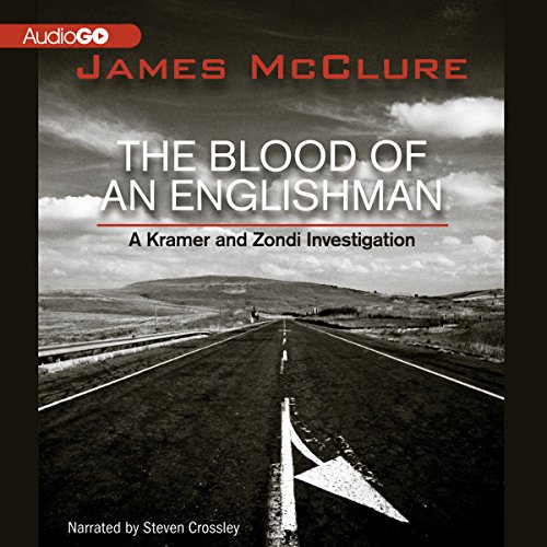 The Blood of an Englishman audiobook cover art