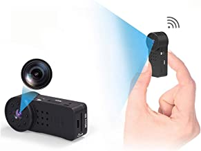 GXSLKWL WiFi Full HD 1080P Portable Mini Nanny Cam with Night Vision and Motion Detection Spy Camera Wireless Hidden for I...