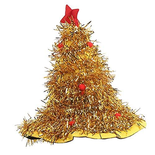 Watopi - Sombrero de rbol de Navidad, 2 unidades, diseo de rbol de Navidad, regalo de Navidad