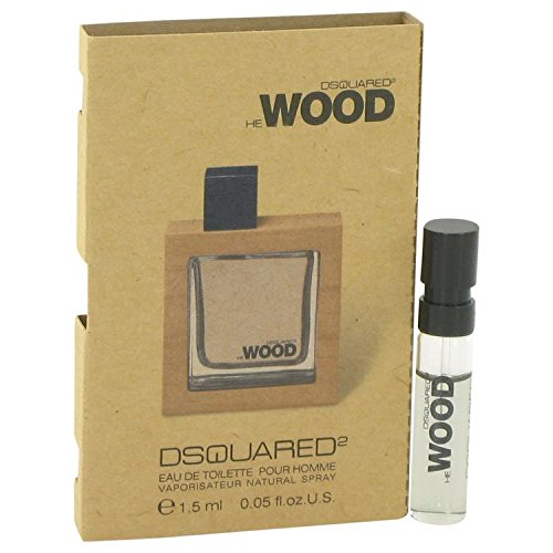 He Wood by Dsquared2 for Men Vial (sample) .05 oz