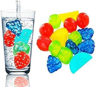 Fruit Shape Reusable Ice Cubes BPA Free (15)