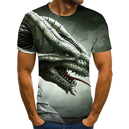 Camiseta de Hombre Camiseta con Estampado 3D Hombres/Mujeres