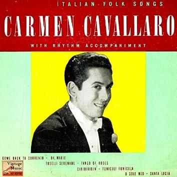"""Vintage Jazz Nº 33 - EPs Collectors """"Italian Folk Songs"""" """"Piano Serenade"""""""