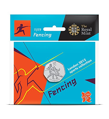 Londres 2012 - La coleccin de los deportes 50p - Esgrima