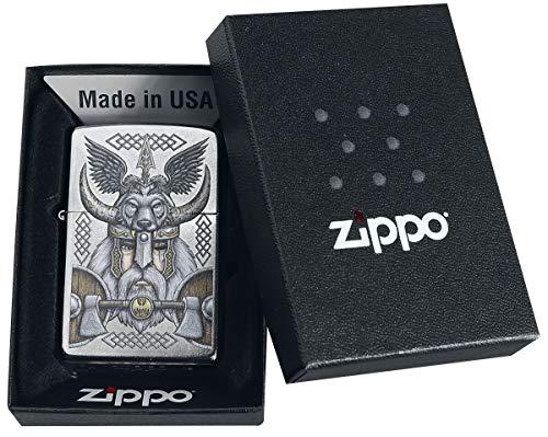 Zippo Viking Odin Feuerzeug Standard