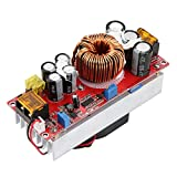 Hyuduo DC-DC Converter Module Boost DC Step Up Voltage Regulator CC CV Stabilizer Power Supply Module 10-60V to 12-97V 1500W 30A