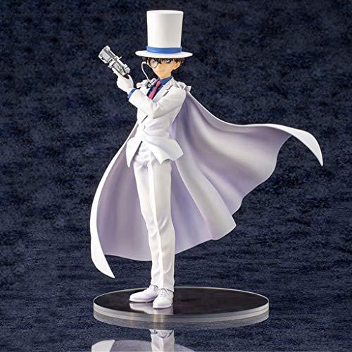 Zhang Pantalla Detective Conan Kaito Kaito Kid Kuroba Figura de Colección Modelo Estatua de Habitaciones decoración del Coche de 9.8 Pulgadas Oficina for Hobbies Collecting
