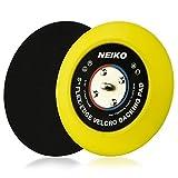 "NEIKO 30266A 5' Backing Pad | Hook and Loop Velcro Polishing Pad | PU Flexible Edge | 5/16"" 24 Thread DA Sanding Plate"