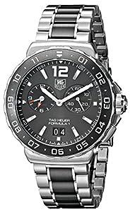 TAG Heuer Men's WAU111C.BA0869 Analog Display Quartz Silver Watch image