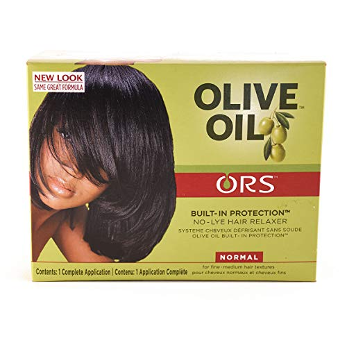 Relaxer / Crema alisadora Organic Root Stimulator Olive Oil Relaxer Kit Normal (Regular)