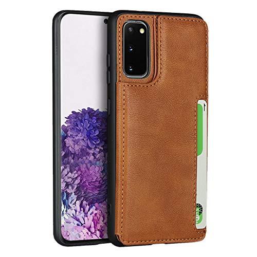 Brieftasche Handyhülle für Samsung Galaxy S20 (Khaki)