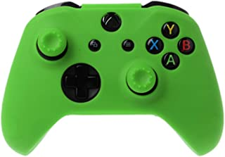 Youngy Protective Cover Cap Analog Thumb Sticks Grip Soft Silicone Case Anti-Slip Waterproof for Xbox Ones Gamepad Controller - Green