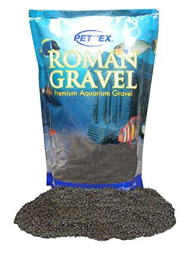 Pettex Roman Gravel Aquatic Roman Gravel, 2 Kg, Jet Black