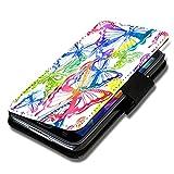 Book Style Flip Handy Tasche Hülle Schutz Hülle Schale Motiv Foto Etui für Wiko Darkmoon - A36 Design9
