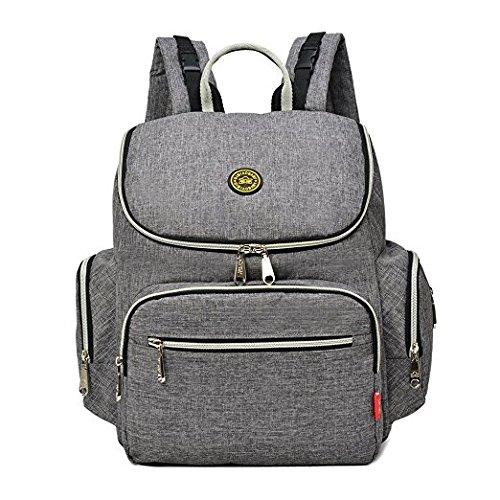 iMyth Wickeltasche Reise Rucksack Handtasche Schultertasche große Kapazität Passform Buggy