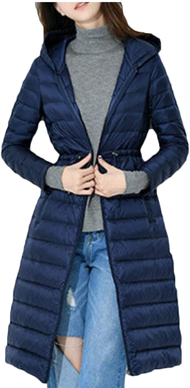 Maweisong Women's Warm Outwear Winter Coats Hooded Down Jackets