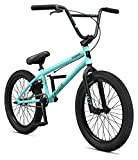 Mongoose Legion L80 Freestyle BMX Bike Line for Beginner-Level to Advanced Riders, Steel Frame, 20-Inch Wheels, Mint
