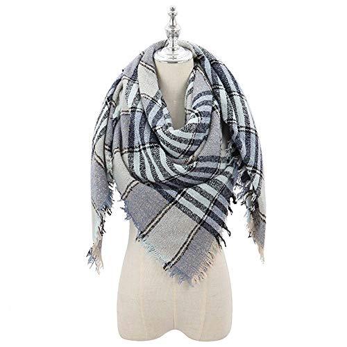 G&UWEI Übergroße Schal-Schal Für Frauen Warmen Winter Schal Weichen Schottenkaro Schal Wraps Decke Plaid-Schal-Schals Für Frauen Spinning-Schal Lange Stola,2#