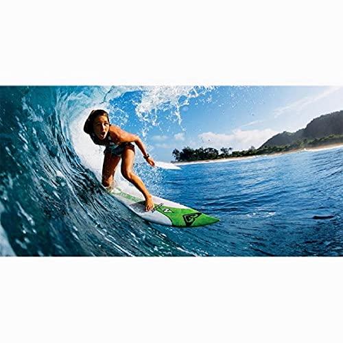 Toalla de Playa Absorbente de Microfibra para Surf, Suave y cómoda, para Hombres y Mujeres, para baño Familiar, estilo-4-70x140cm