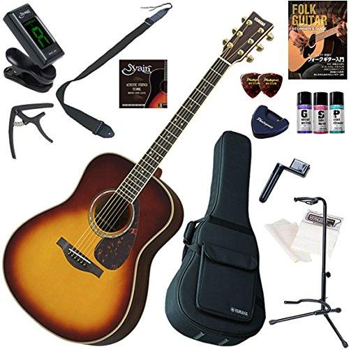 YAMAHA アコースティックギター 初心者 入門 オール単板のジャンボボディタイプ セット内容をグレードアッ...