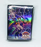 遊戯王 YCSJ 黒爆裂破魔導 デュエルセット スリーブ (開封50枚) ブラックマジシャンガール