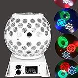 LED PAR luce discoteca effetti luce PA luce RGB stroboscopio DJ musicale faro La-Cakus ill...
