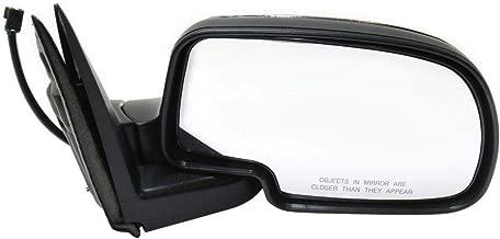 Parts N Go 1999-2002 Chevy Silverado Chrome Power Door Mirror Passenger Side Right Hand Sierra - 15172248 GM1321174