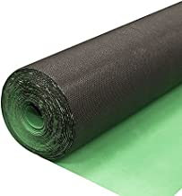 2in1 Silent Vapor Barrier Underlayment for Vinyl Flooring | EVA High-Density | IIC 70db | 1.5mm 100sf roll