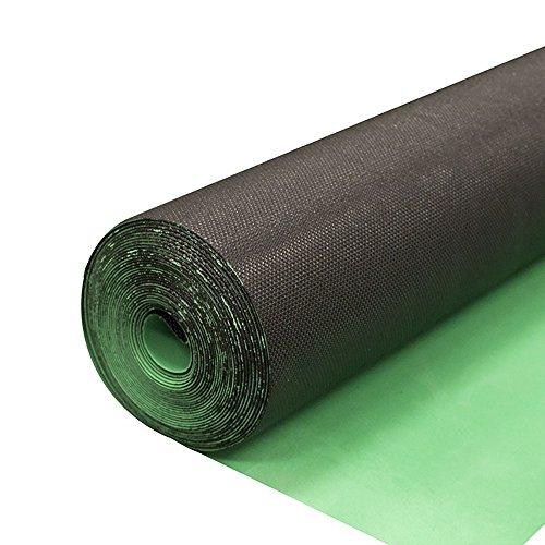 2in1 Silent Vapor Barrier Underlayment for Vinyl Flooring | EVA High-Density | IIC 70db | 1.5mm 100sf roll
