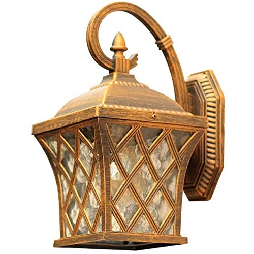 Lámpara de Pared Para Exteriores De estilo europeo al aire libre lámpara de pared resistente al agua, estilo moderno y minimalista estadounidense, conveniente for el pasillo, al aire libre, lámpara de