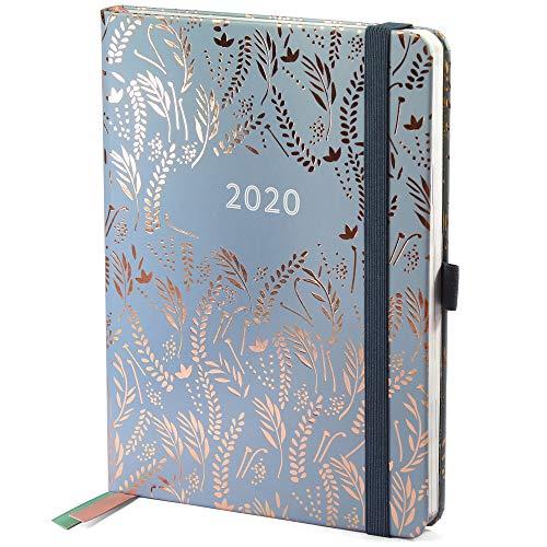 Preisvergleich Produktbild Boxclever Press Everyday Kalender 2020. Taschenkalender 2020 mit Seiten für Budget,  To-Do-Listen und Monatsübersichten. Terminplaner 2020 von Januar bis Dezember (Silbergrau)