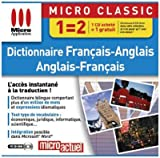 Dictionnaires A/F F/A -