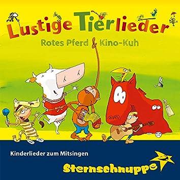 Lustige Tierlieder: Kinderlieder zum Mitsingen (Rotes Pferd und Kino-Kuh)