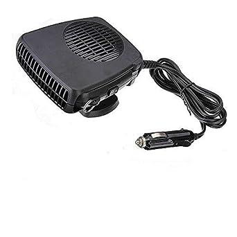 WWX 200W Electric Car Heater 12V DC Heating Fan Defogger Defroster Demister Portable: image
